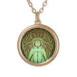 Elemental Earth Spirit, Mother Earth, Gia Goddess Pendant