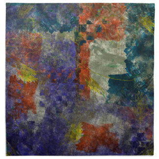 Elemental Liaisons Abstract Napkins