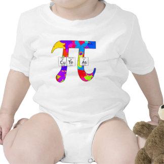 Elemental lindo como pi (mariposa) camiseta