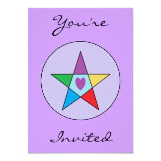 Elemental Love Custom Invites
