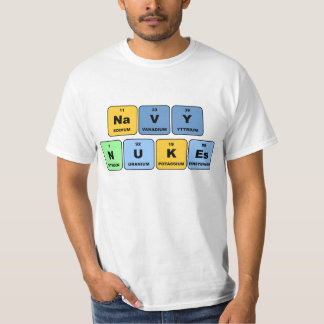 Elemental Navy Nukes T-Shirt