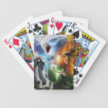 Elemental palaying cards bicycle card deck