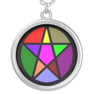 Elemental Pentacle Necklace