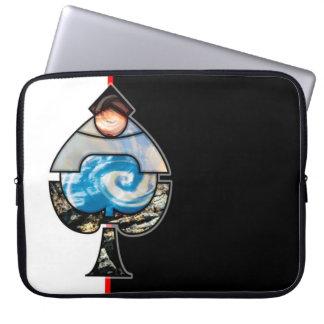 Elemental Spades Laptop Computer Sleeve