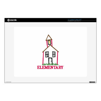 "Elementary 15"" Laptop Decal"