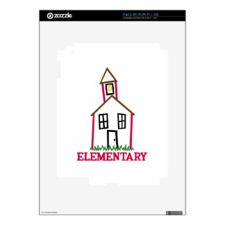 Elementary Decal For iPad 2