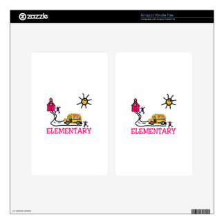 Elementary Decal For Kindle Fire