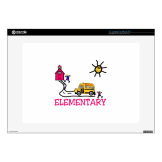 Elementary Decal For Laptop