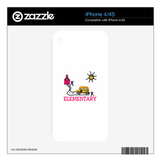 Elementary Decals For The iPhone 4S