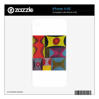 Elementary Forms by Sophie Taeuber-Arp iPhone 4 Skins