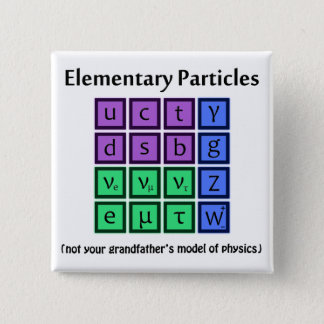 Elementary Particle Physics Button