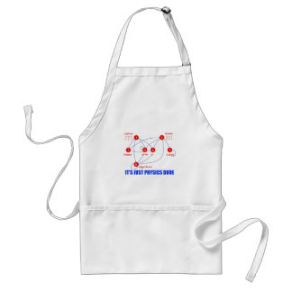 Elementary Particles of Physics Higgs Boson Quarks Adult Apron