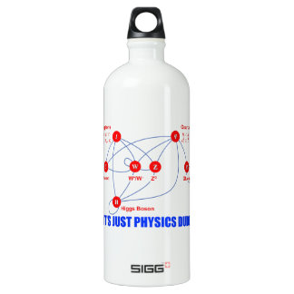 Elementary Particles of Physics Higgs Boson Quarks SIGG Traveler 1.0L Water Bottle