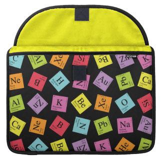 Elementary Periodic (Dark) MacBook Pro Sleeves