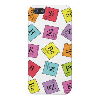 Elementary Periodic iPhone SE/5/5s Cover
