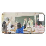 Elementary school students at school 2 iPhone 5 case