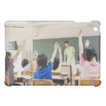 Elementary school students at school 2 iPad mini cover