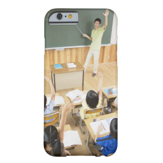 Elementary school students at school barely there iPhone 6 case