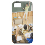 Elementary school students at school iPhone 5 cover