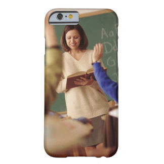 Elementary school students raising their hands barely there iPhone 6 case