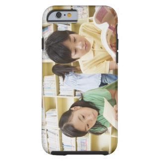 Elementary school students reading a book tough iPhone 6 case
