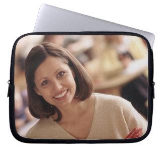 Elementary school teacher computer sleeve