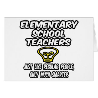 Elementary School Teachers...Smarter Cards