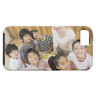 Elementary students and teacher iPhone SE/5/5s case