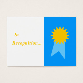 Elementary Teacher Everyday Awards For Students Business Card