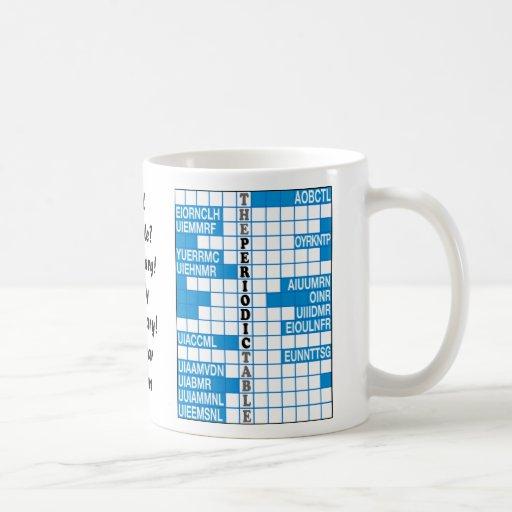 Elementary Word Scramble Classic White Coffee Mug