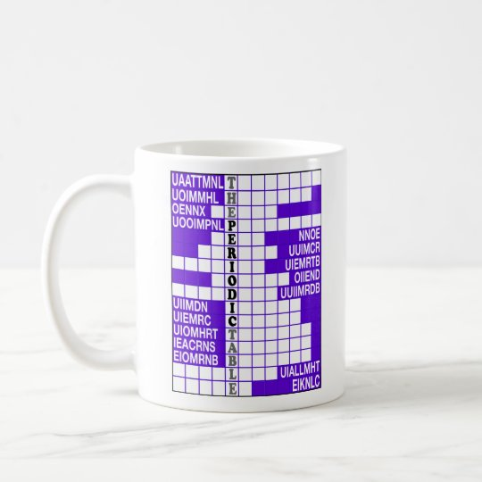 Elementary Word Scramble Coffee Mug