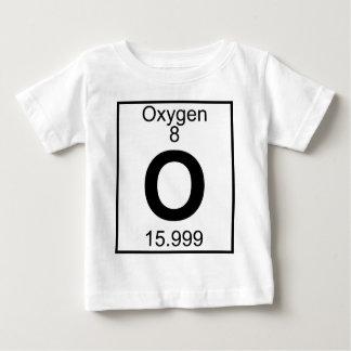 Elemento 008 - O - Oxígeno (lleno) Remera