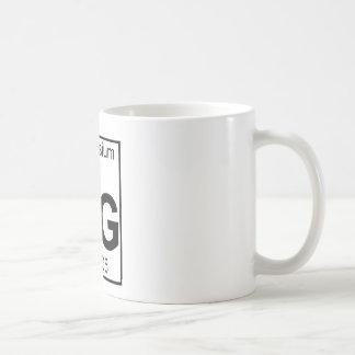 Elemento 012 - Magnesio - Magnesio (lleno) Taza De Café