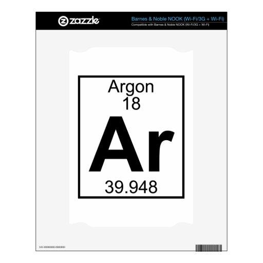 Elemento 018 - AR - Argón (lleno)