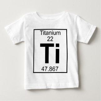 Elemento 022 - Ti - titanio (lleno) Playera