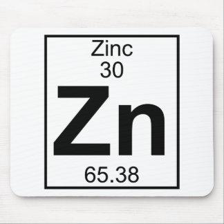 Elemento 030 - Zn - cinc (lleno) Alfombrillas De Ratones