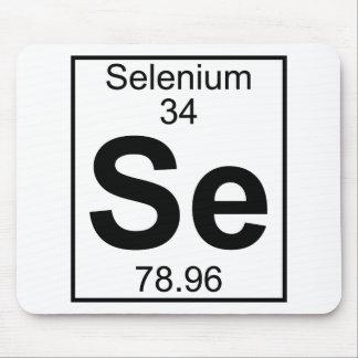 Elemento 034 - SE - Selenio (lleno) Alfombrillas De Ratón