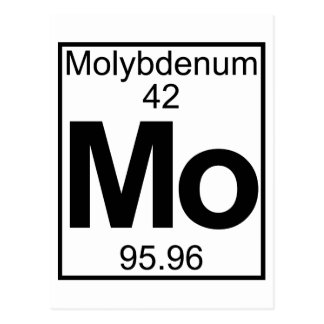 Elemento 042 - MES - Molibdeno (lleno) Postal