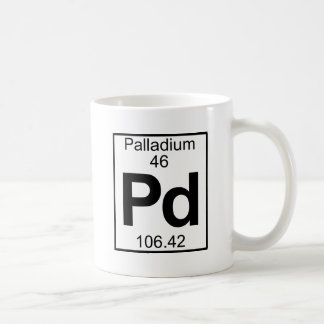 Elemento 046 - Paladio - Palladium lleno