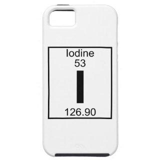 Elemento 053 - I - Yodo (lleno) iPhone 5 Protectores