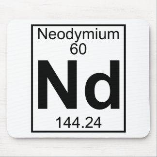 Elemento 060 - Nd - Neodimio (lleno) Alfombrilla De Raton