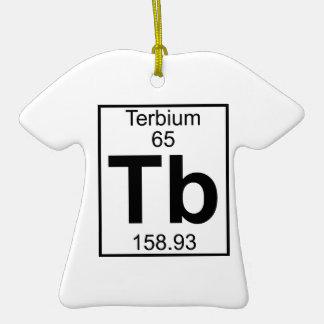 Elemento 065 - TB - Terbio (lleno) Ornamento Para Arbol De Navidad