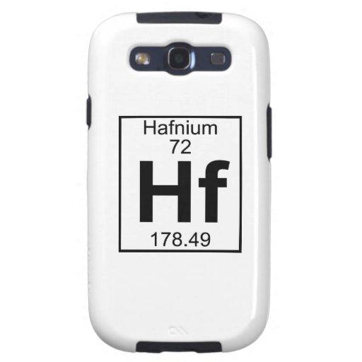 Elemento 072 - Hf - Hafnio (lleno) Galaxy S3 Protectores