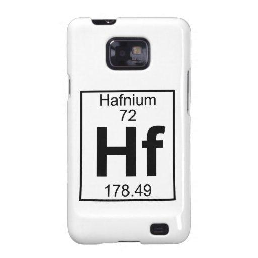 Elemento 072 - Hf - Hafnio (lleno) Samsung Galaxy SII Carcasa