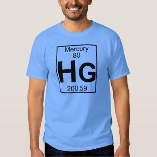 Elemento 080 - Hectogramos - Mercury (lleno) Remeras