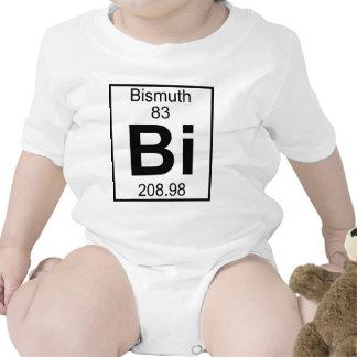 Elemento 083 - BI - bismuto (lleno) Trajes De Bebé