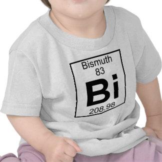 Elemento 083 - BI - bismuto (lleno) Camisetas