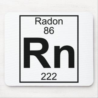 Elemento 086 - Rn - Radón (lleno) Tapetes De Raton