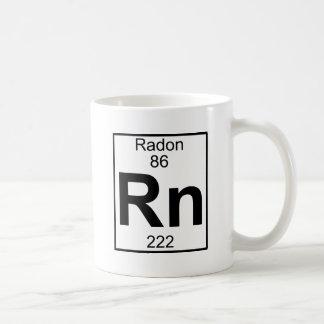 Elemento 086 - Rn - Radón (lleno) Taza Clásica