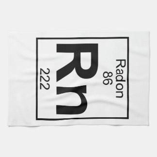 Elemento 086 - Rn - Radón (lleno) Toalla De Cocina